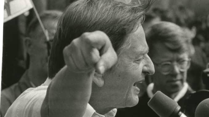 Olof Palme Foto: Torbjörn Andersson