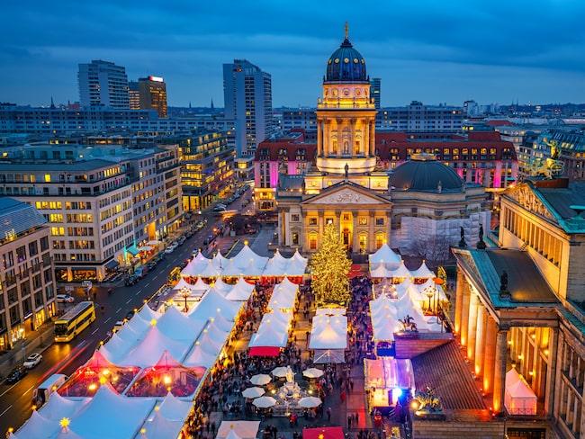 Mellan november och december arrangeras drygt 60 julmarknader i Berlin.