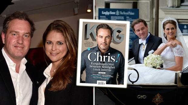 Chris O'Neill om att vara gift med Madeleine: Älskar henne