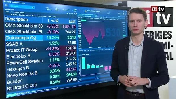Marknadskoll: Börsen ner - Stillfront stiger