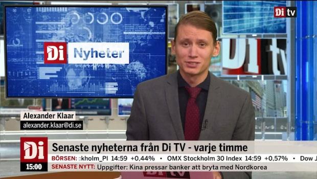 Di Nyheter 15.00 den 21 september 2017