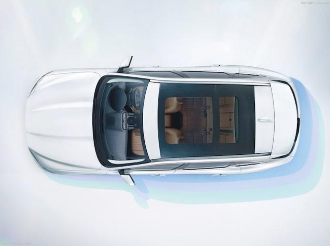 Bagageutrymmet på 650 liter matchar konkurrenten BMW X5 och är större än i Audi Q5.