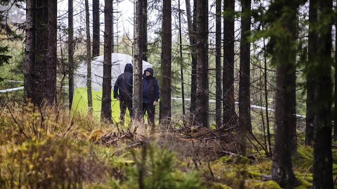 En kvinna i 60-årsåldern hittades död i motionsområdet i Ulricehamn i tisdags kväll. Foto: HENRIK JANSSON