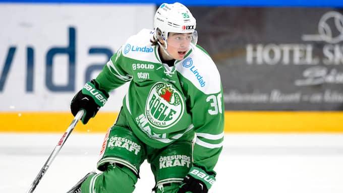 Filip Karlsson kan ha gjort sitt i Rögle. Foto: ANDERS BJURÖ / BILDBYRÅN