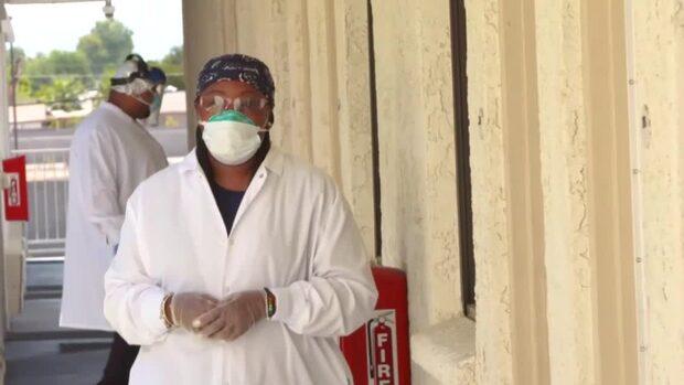 Historiskt hårt för hemlösa i USA under pandemin