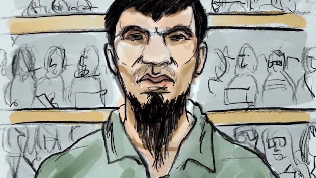 """Akilov om attentatet: """"Det var inte lyckat"""""""