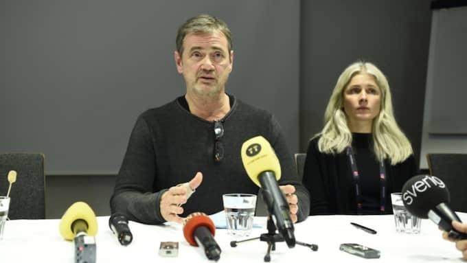 """Christer Björkman bekräftade att Anna Books låt """"Himmel för två"""" blir utesluten då den redan tävlat en gång i Moldavien. Foto: Sven Lindwall"""