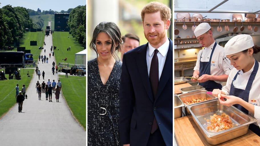 CNN har brutit ner kostnadsposterna för bröllopet mellan Prince Harry