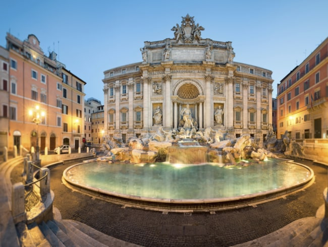 Enbart Trevifontänen i Rom drar in nära tio miljoner kronor om året i form av kastade småmynt.