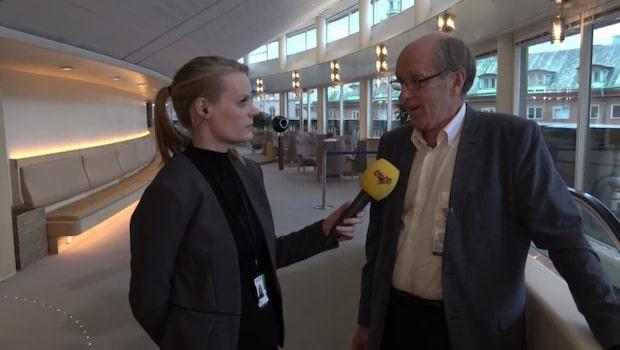 """K-G Bergström: """"Pressen kommer naturligtvis att öka på Annie Lööf och liberalernas ledare."""""""