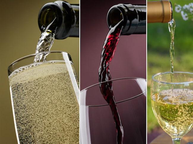 Alla viner har en idealtemperatur där det visar sina bästa sidor.