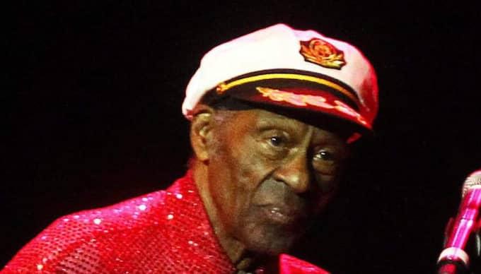 Rockstjärnan Chuck Berry är tidigare dömd för trafficking. Foto: Mario Ruiz / Epa / Tt