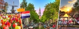 9 härliga vårtips i Amsterdam