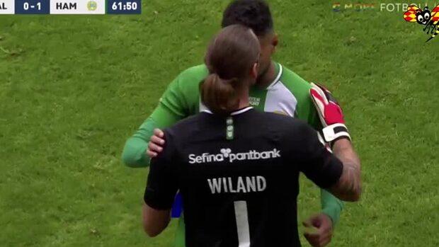Wiland gör comeback efter rött kort