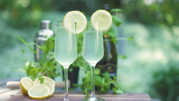 Gindrinken French 75