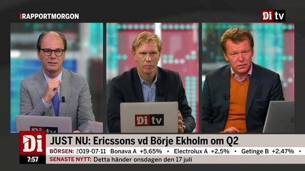 """Analytikern om Ericsson: """"Positivt att höra att 5G-utrullningen rullar på bättre än förväntat"""""""