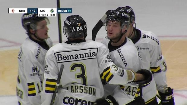 Highlights: AIK vann – efter tio raka förluster