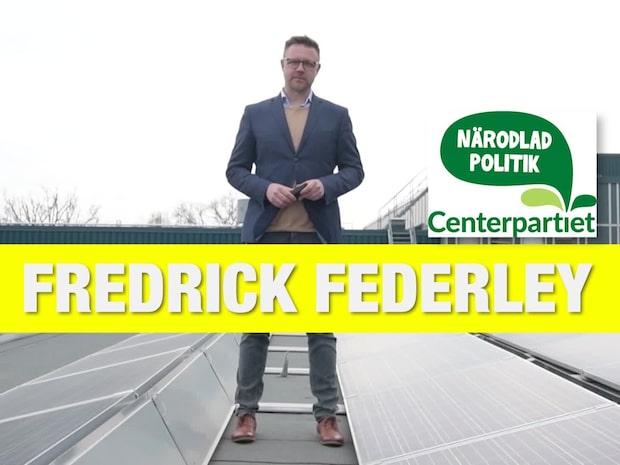 EU-kandidaterna: Fredrick Federley (C)