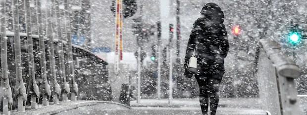Iskalla höstprognosen – här drar snön in över landet