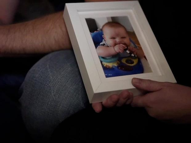 """Loui blev bara ett halvår: """"Han var en lycklig själ"""""""