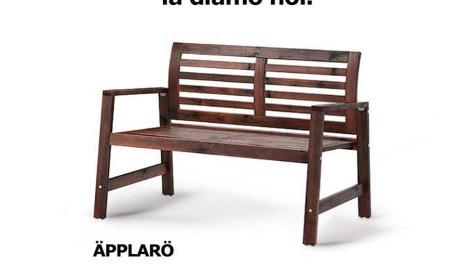 Bänken - nästa anhalt för Ventura? Foto: Ikea