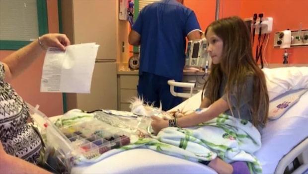 Flickan som är ett medicinskt mirakel - cancern försvann