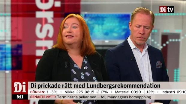 """Jönsson om Lundbergs: """"Jag tror fortfarande det är en bra basaktie i en portfölj"""""""