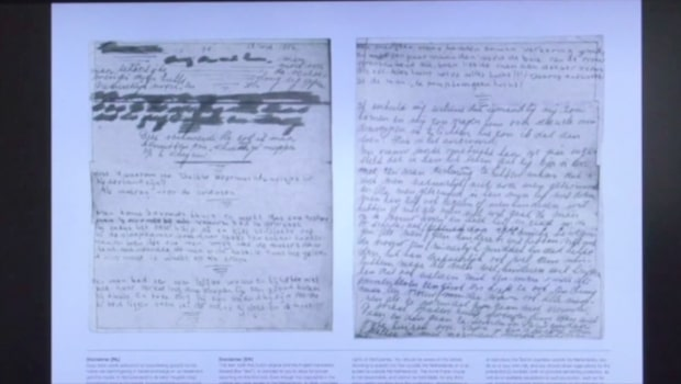 Två hemliga sidor i Anne Franks dagbok