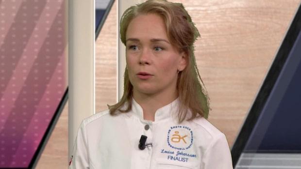 """Louise om finalen i """"Årets Kock"""": """"Tänkt på korv sedan i juni"""""""