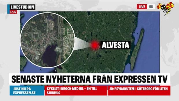 Alvesta: En kropp har anträffats i ett skogsparti