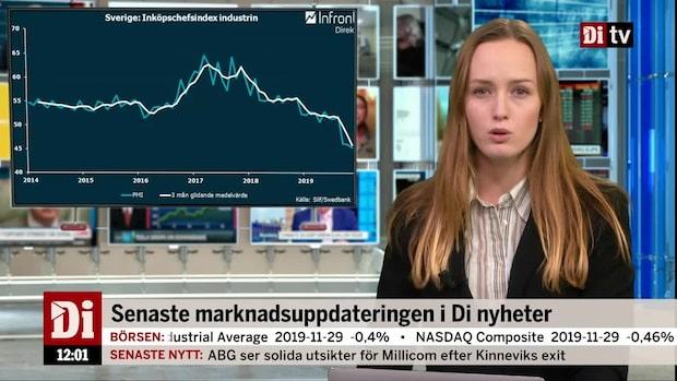 Di Nyheter: Börsen klättrar trots oväntat svaga PMI-siffror för industrin