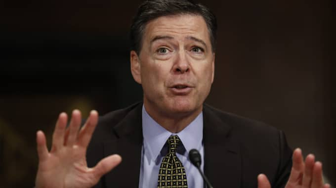 James Comey. Foto: Carolyn Kaster / AP/ TT