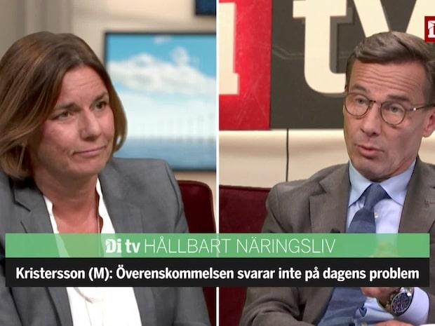 Lövin (MP): Moderaterna vill inte stå upp för sina överenskommelser