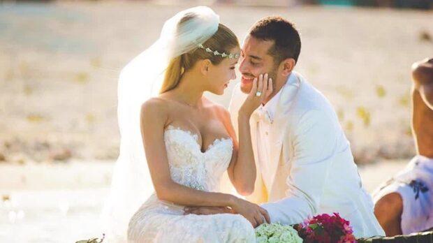 Elena Belles lyxbröllop på paradisön