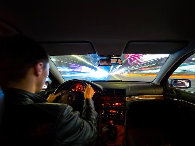 Det var i juli som en 23-årig övningsförare försökte köra ifrån polisen. Genrebild.