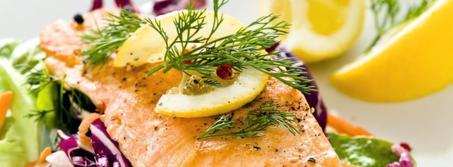 kött och sallad diet