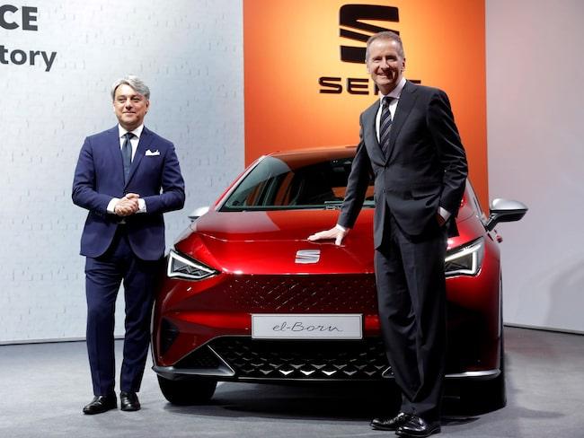 Seat har visat upp konceptbilen el-Born. Senare ska märket bygga en elbil för under 200 000 kronor.