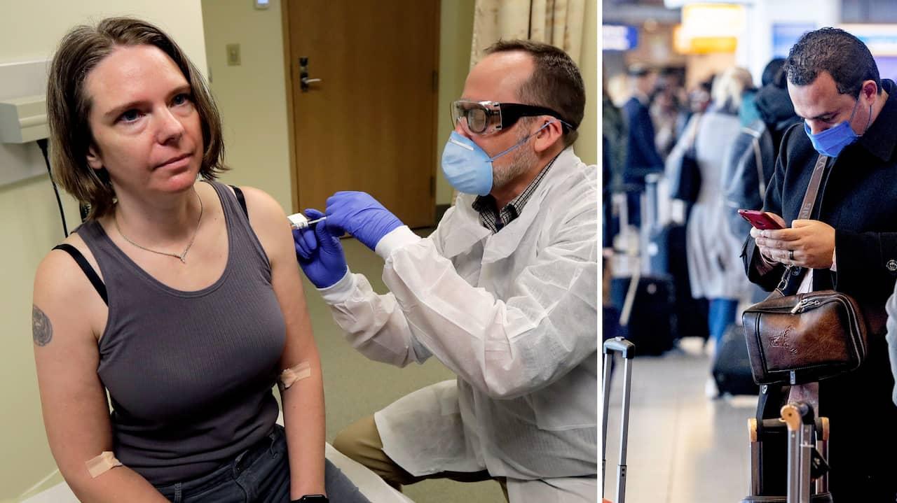 Vaccin mot corona har testats i USA