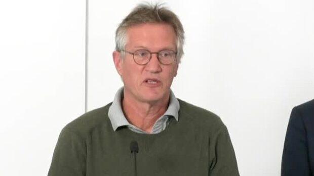 """Anders Tegnell: """"Vi ser inte den nedgång vi hade hoppats på"""""""