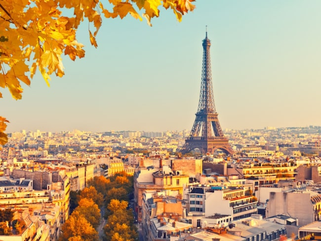 <span>Franska huvudstaden Paris är ett billigt resmål i höst. Foto: Shutterstock<br></span>