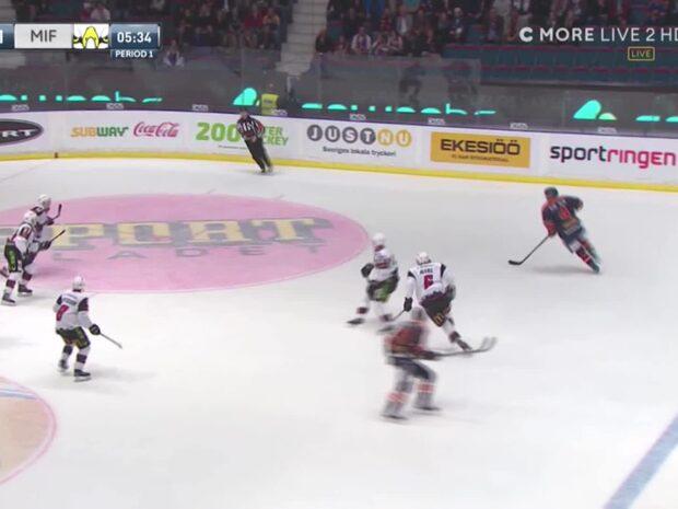 Här gör Högström bort motståndarna fullständigt