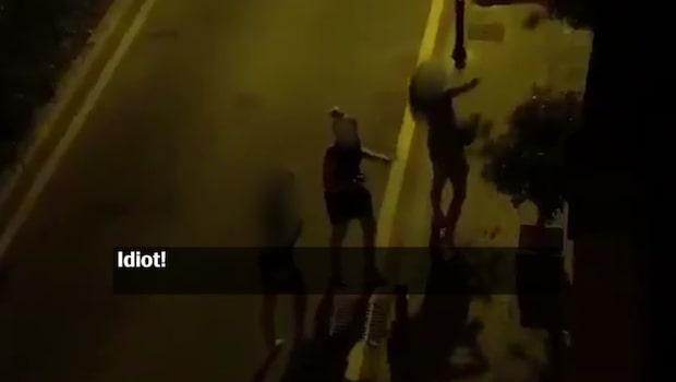 Här vandaliserar de svenska turisterna