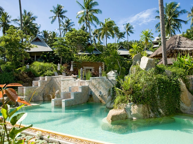 Kamalaya är Koh Samuis världsberömda och lyxiga spa.