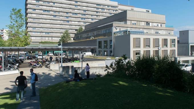 Universitetssjukhuset i Lausanne i Schweiz. Foto: SANDRO CAMPARDO / AP KEYSTONE