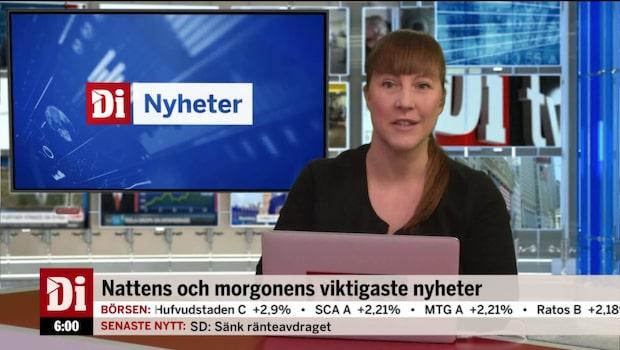 Di Nyheter 06.00 26 september 2017