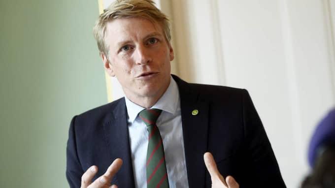 Per Bolund, (MP) konsumentminister. Foto: Vilhelm Stokstad/T/