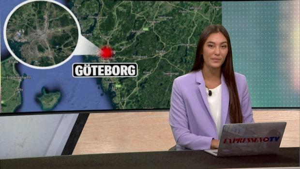 Kraftig detonation på pizzeria i Göteborg