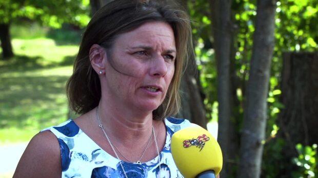 """Isabella Lövin: """"Vårt samhälle är inte byggt för den här typen av väder"""""""