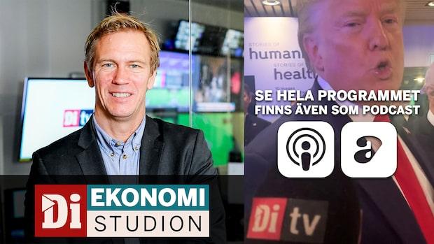 Ekonomistudion - Donald Trump till Di TV om börsen: Finns stor potential