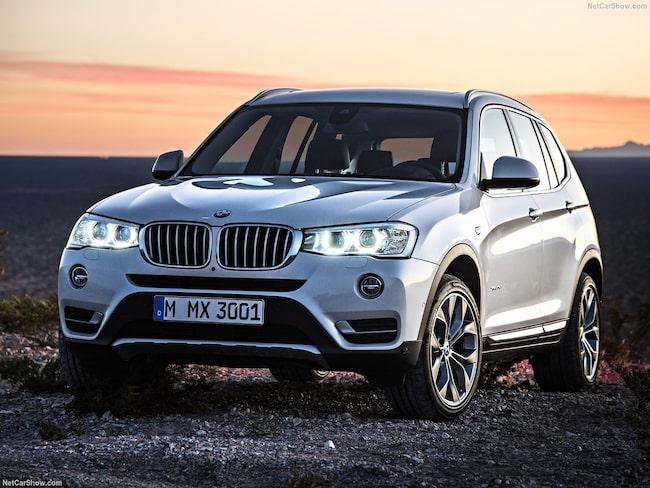 Högst värdeminskning på Blocketlistan har BMW X-serie.